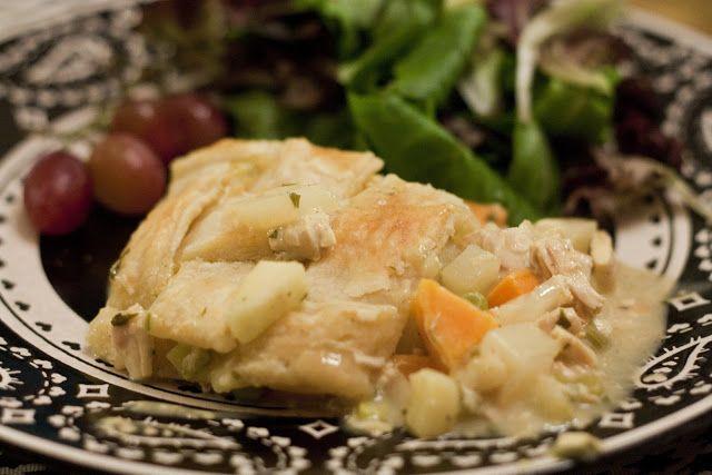 Elle Apparel: Sweet Potato Chicken Pot Pie Casserole