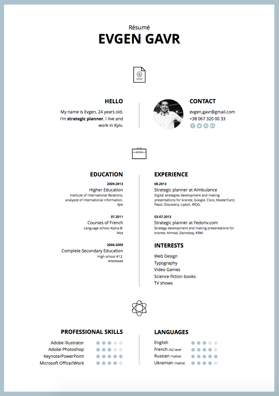 Resume Templates Keynote Resume Templates Resume Template Word Resume Template Free Resume Templates