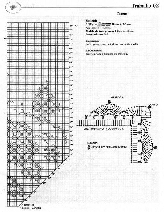 Pin de Georgina en patrones crochet | Pinterest | Ganchillo ...