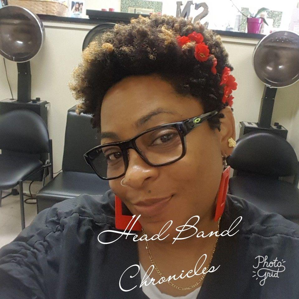 Flower head band tshairco natural hair love pinterest head bands