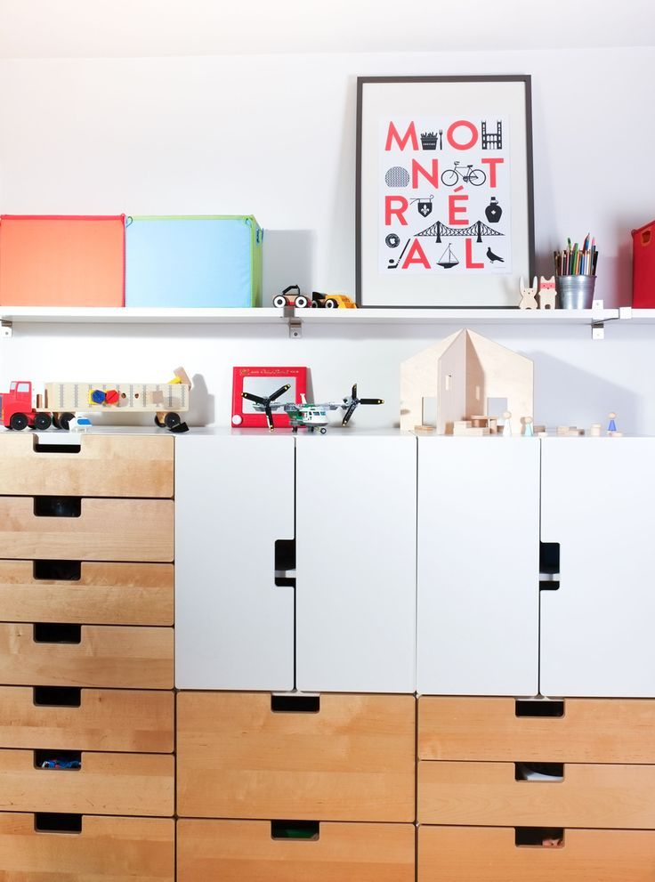 shared room ikea storage and lots of sweet details - Ikea Shared Kids Room