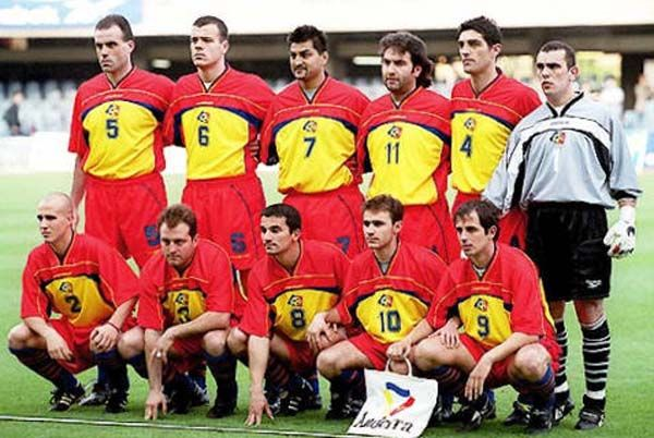 Andorra Europe National Football Teams Team Photos International Football