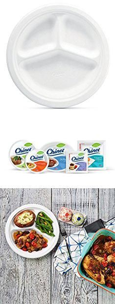 Dinner Plates With Compartments. Chinet Premium 10 Compartment Paper Plates Package (Pack of  sc 1 st  Pinterest & Chinet Compartment Plates. Chinet Classic White Compartment Plate ...