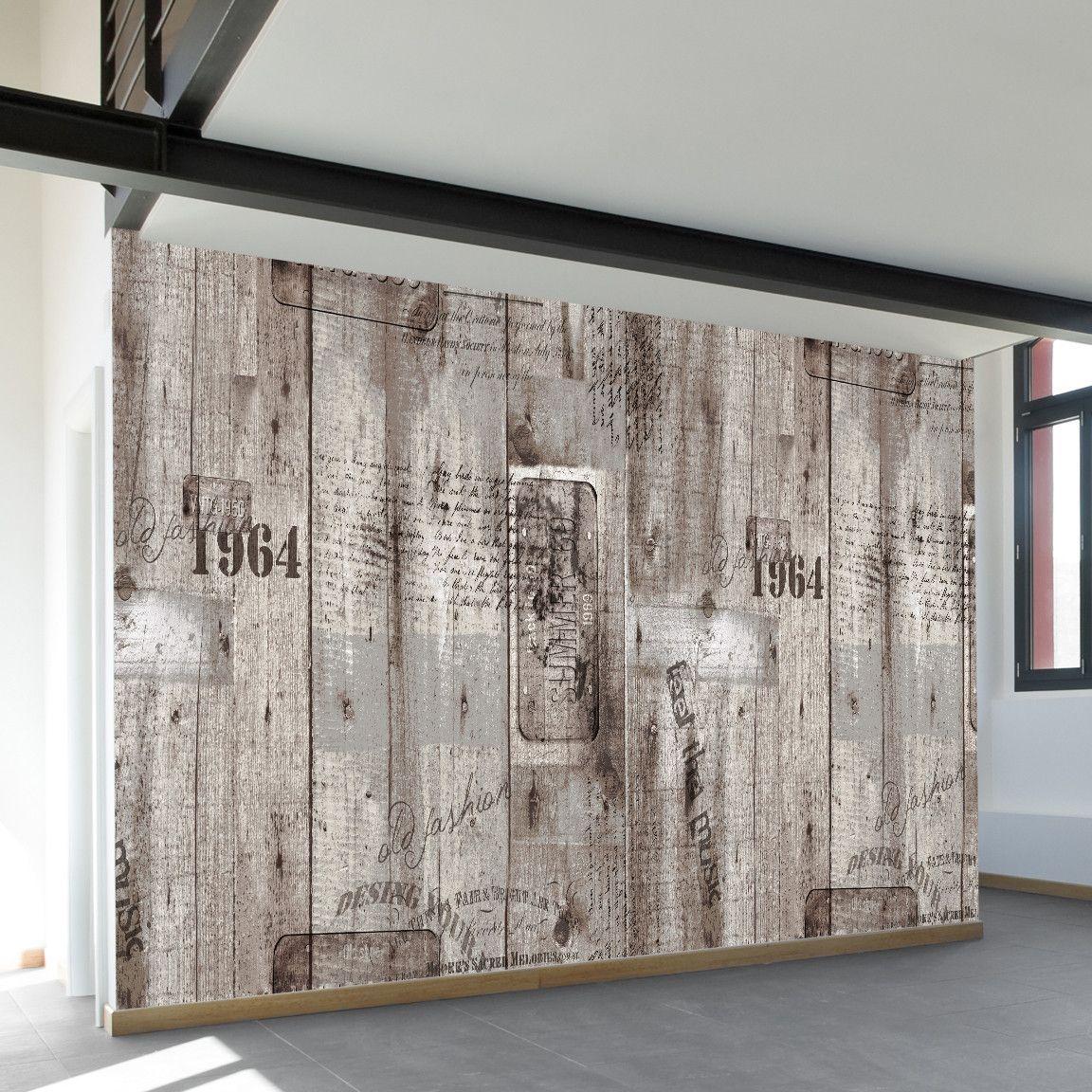 Aged Wood Printing | Wall Mural | WallsNeedLove
