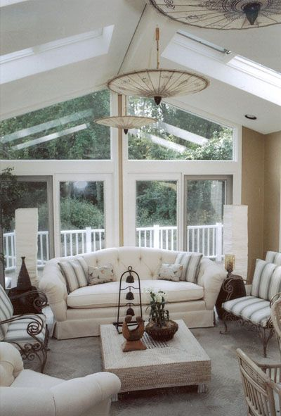 Back Porch Additions Best Ideas About Room Additions On House Additions Interior Designs: MFB-Designs: Home Design: Milton Ranch-House Sunroom Seating Area
