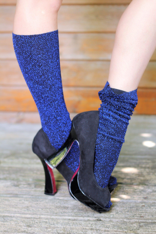 Cable knit socks fetish