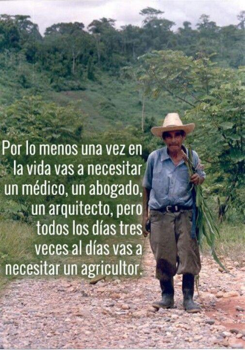 Agricultor Frases De La Vida Agricultor Y Frases