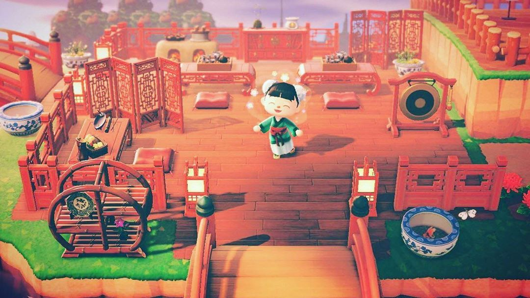Ac Islands On Instagram Finally We Have This Asian Themed Restaurant By Creator 0pulent0ctopus Another Great E New Animal Crossing Animal Crossing Animals