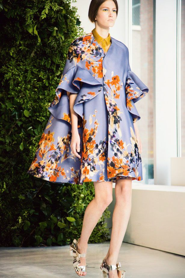 DELPOZO Spring / Summer 2014 collection shown at New York ...