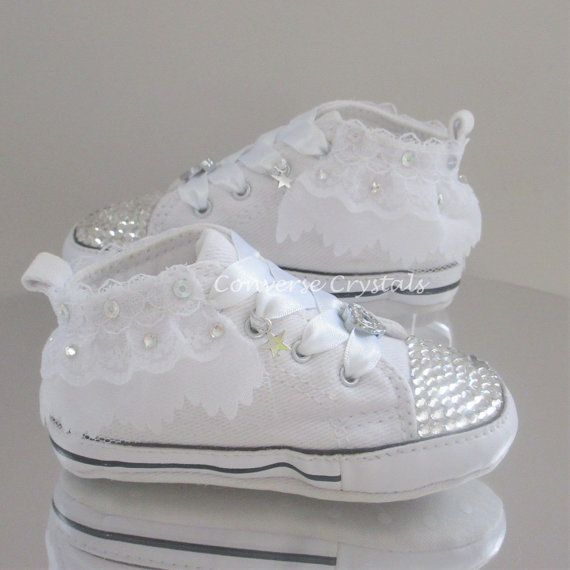 Beautiful soft sole baby crib Converse available in all 4 crib sizes. They  are   4a757cd19
