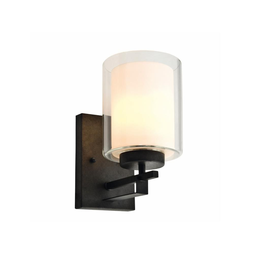 Design House Impala 1 Light Rustic Bronze Wall Sconce