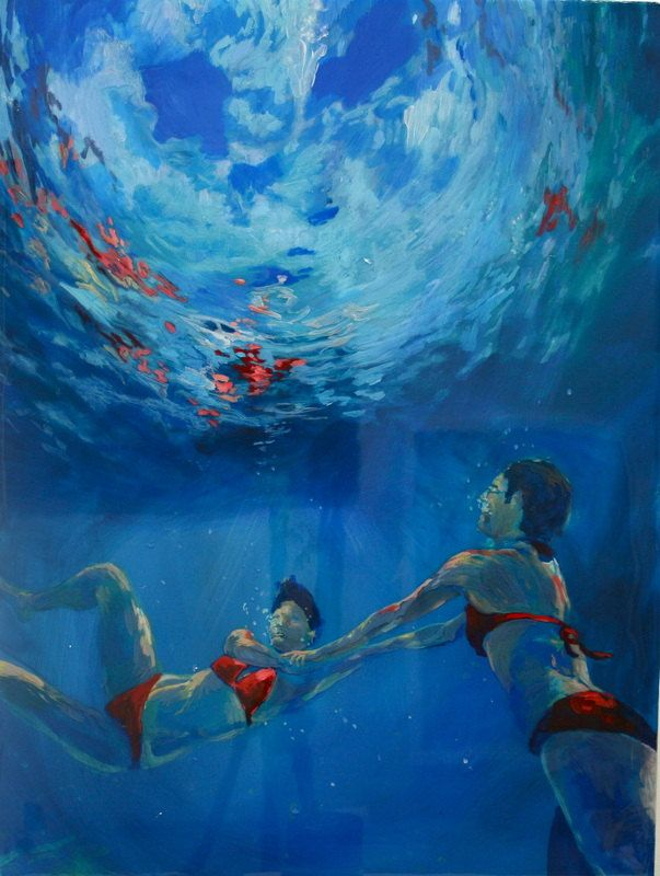 Art Underwater Painting Like This 18 x 24 by scoutcuomo ...