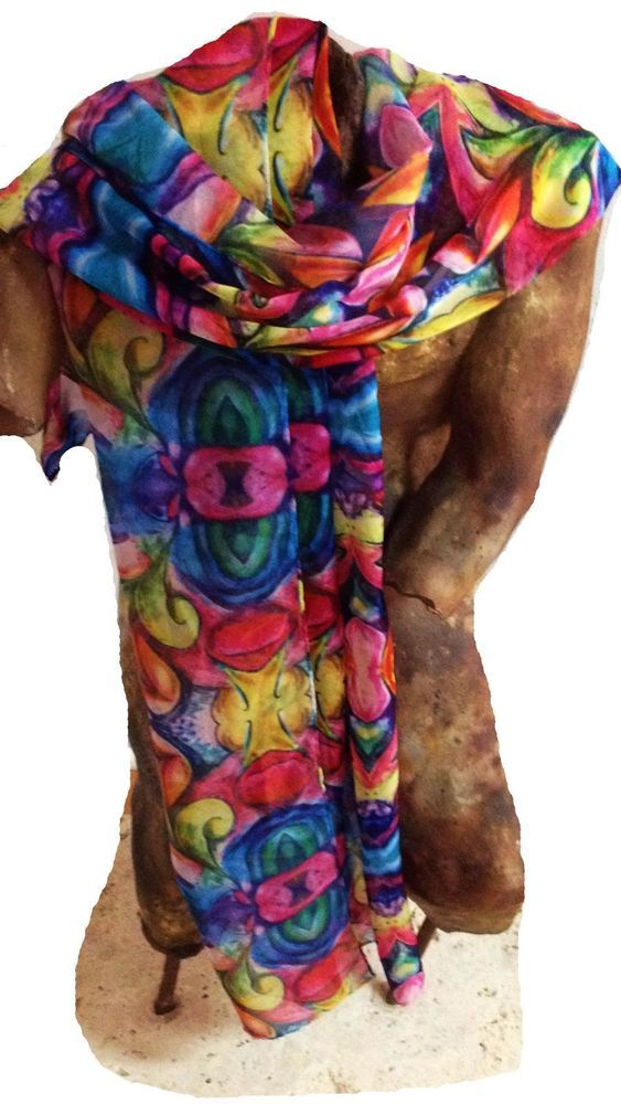 Art to wear; Art Rags scarf collection  #ArtRags #Scarf