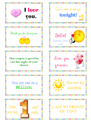 graphic regarding Free Printable Lunchbox Notes for Husband known as 10 Appreciate Notes for Your Spouse Hubby Lovin Delight in notes