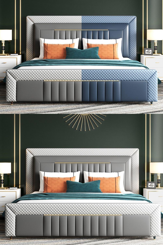 Exclusive Bedroom Interior Design In 2020 Bedroom Furniture Design Bed Design Modern Bed Furniture Design