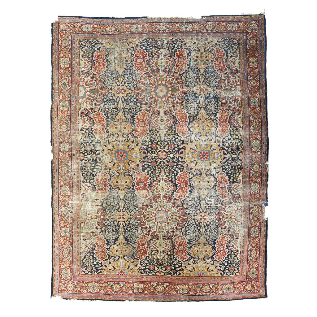 ZIEGLER CARPET SULTANABAD, WEST PERSIA, LATE 19TH CENTURY 474CM X 366CM - SALE 468 - LOT 612 - LYON & TURNBULL