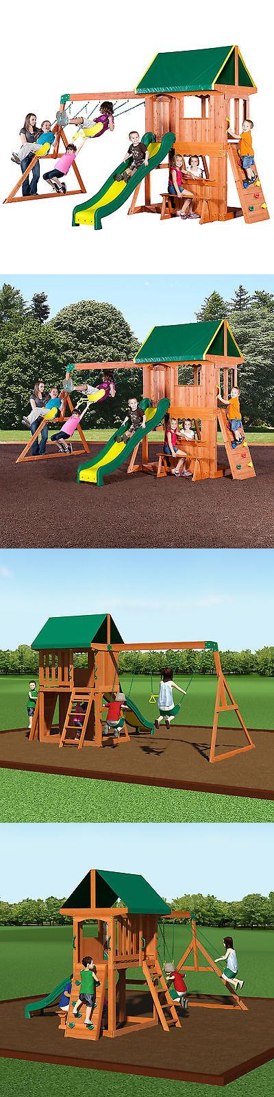 Swings Slides And Gyms 16515: Backyard Discovery Somerset Swing Set  U003e BUY  IT NOW