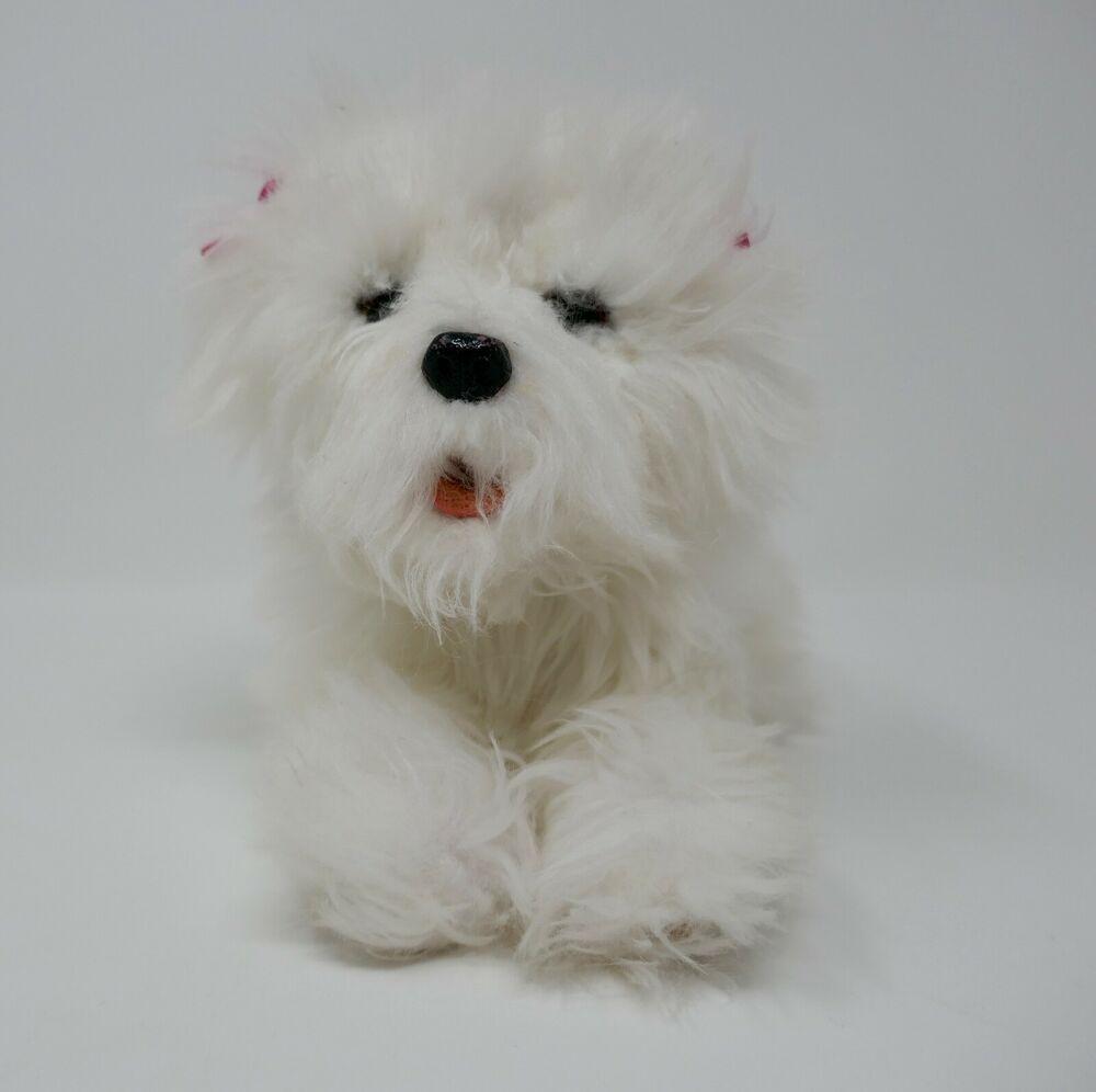 Hasbro Furreal Friends Teacup Pup White Maltese Interactive Plush
