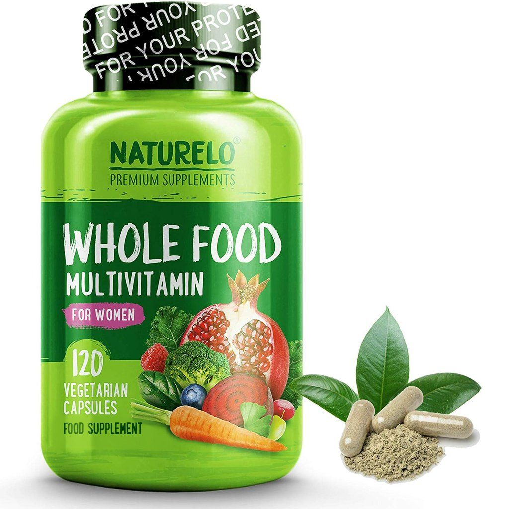 Women's Whole Food Multivitamin with Natural Vitamins