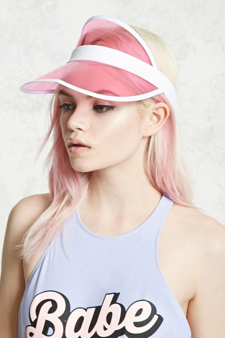 9ccec00a787 Translucent Visor Outfits With Hats