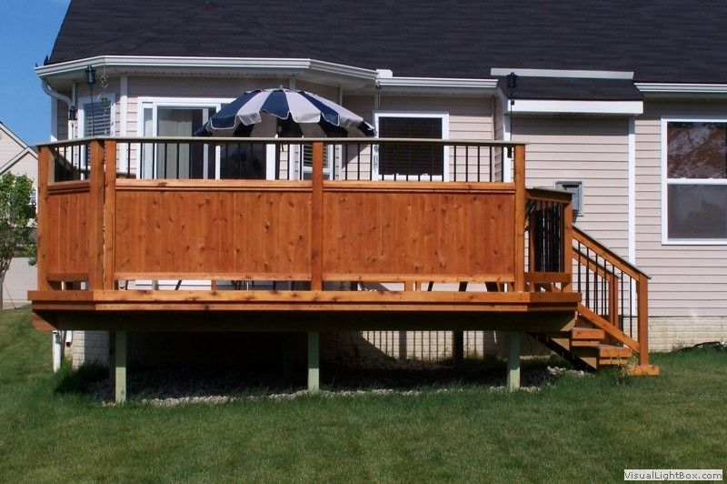 Attractive Http://www.gmdecks.com/photo_gallery/new_decks/data/images2/new_custom_deck_privacy_fence_1  | Home | Pinterest | Decking, Deck Patio And Privacy Deck