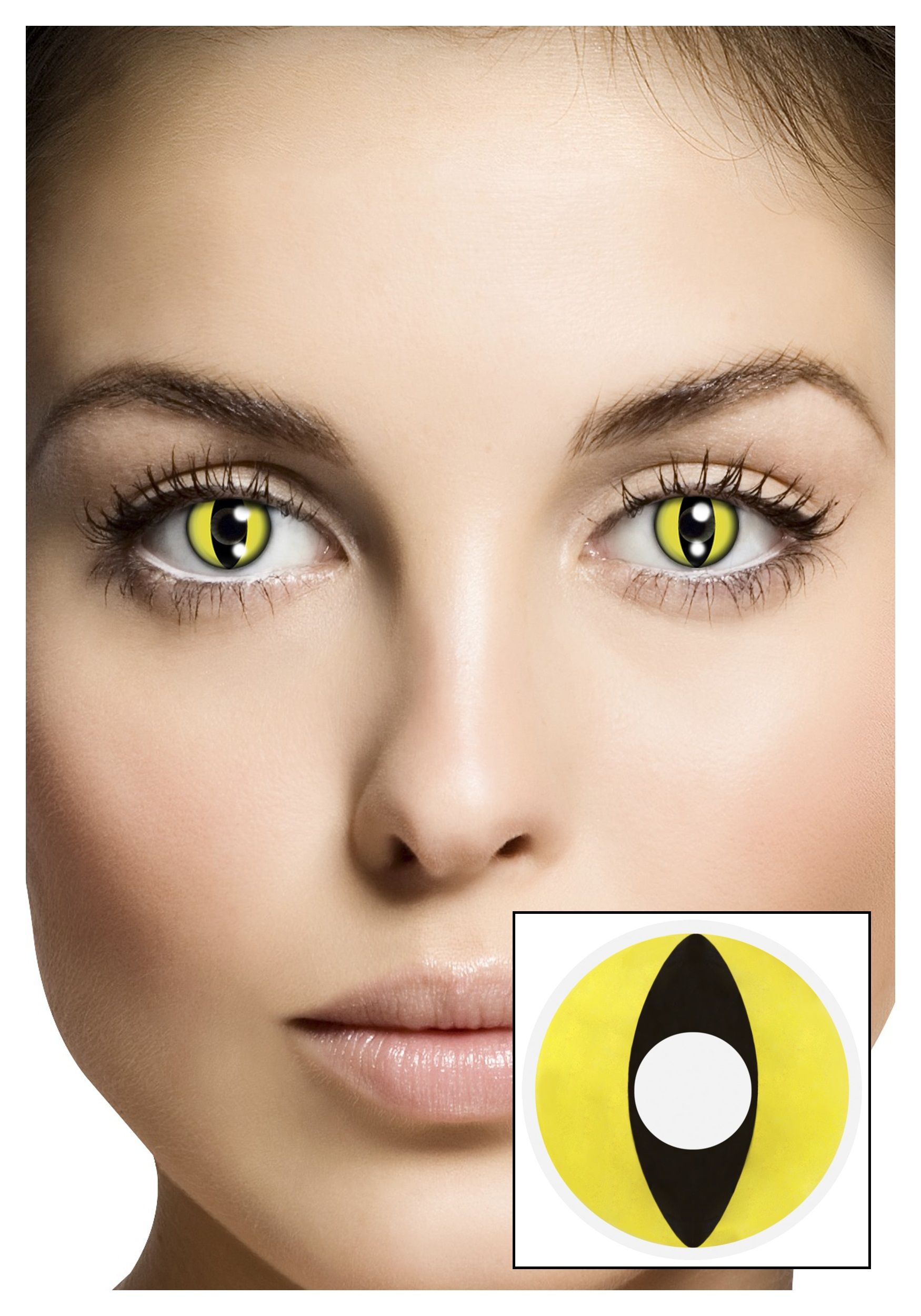 GEO Crazy Cat Eye Contact Lenses SF-R05 Red (USD19.95) | GEO Crazy ...