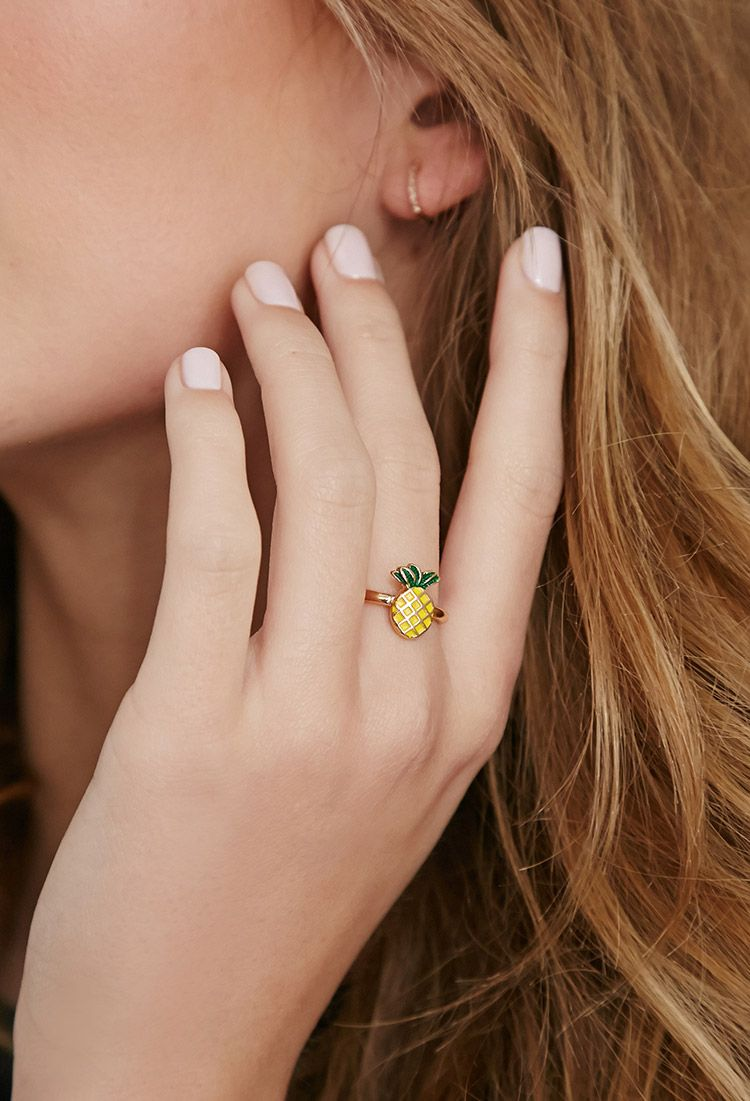 Pineapple Ring | Forever 21 Canada