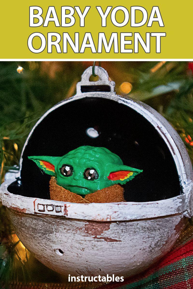 Baby Yoda Ornament Disney Ornaments Diy Christmas Ornaments Homemade Painted Christmas Ornaments