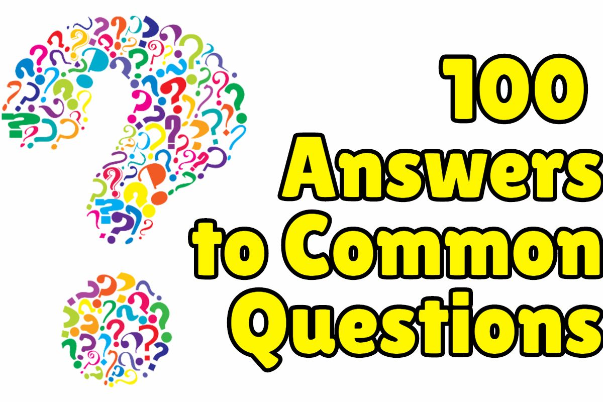 100 Answers To Common English Questions Ingleses