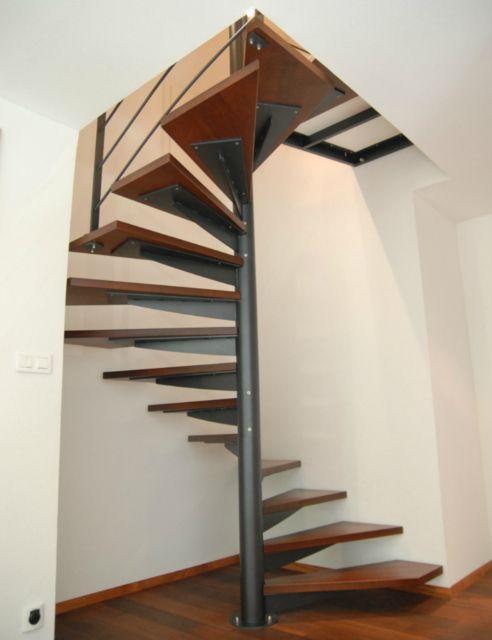 escalier helicoidal carre