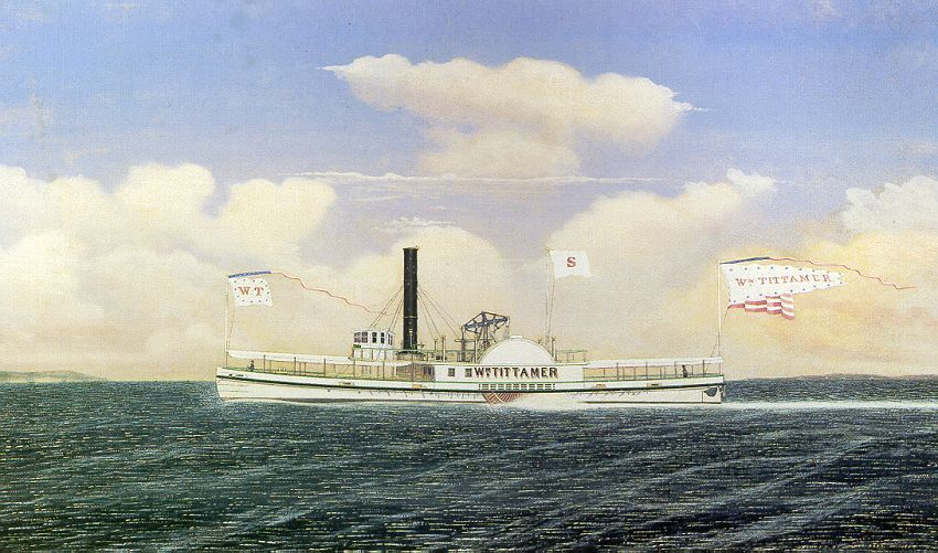 Steam boats played a role in Industrial Revolution