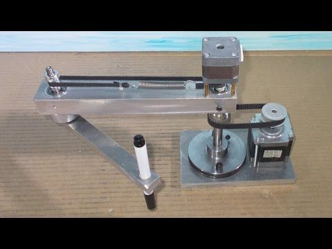 Homemade Scara Robot Arm DIY Robotic Frame Project… | Homemade Scara