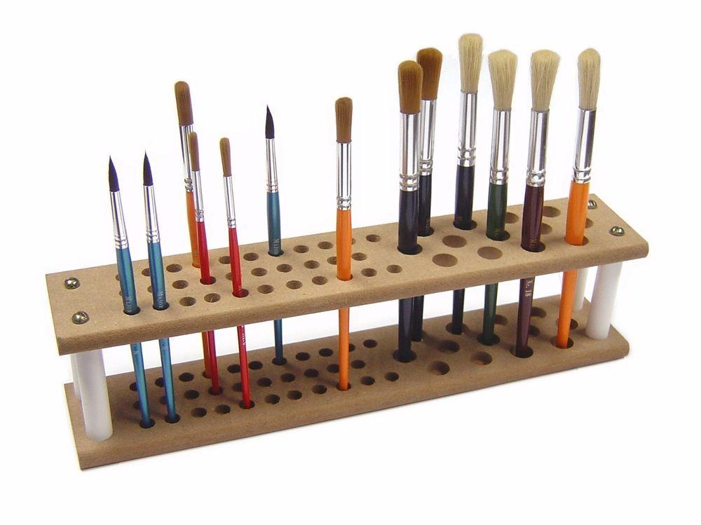Major brushes mdf brush holder stand holds up to 45