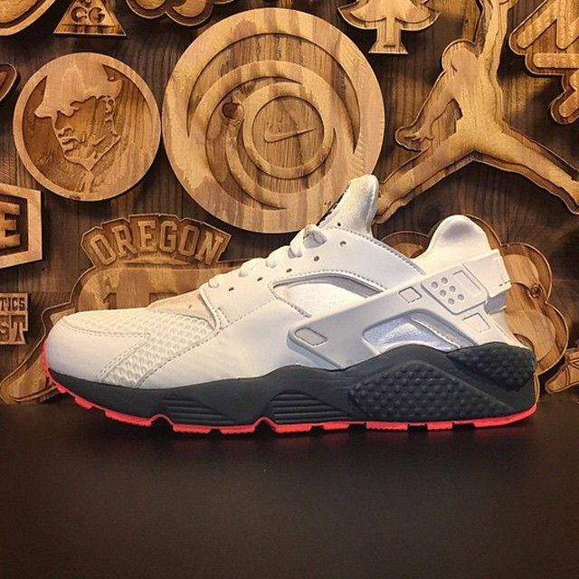 43fbee8015 All-White Huaraches with some character in its soles. Get a detailed look  at this new release on SneakerNews.com