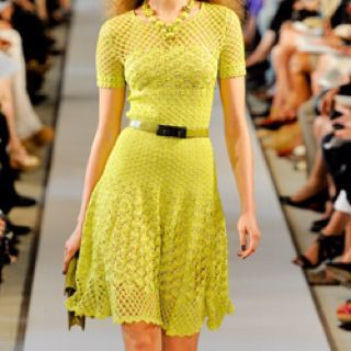 "The ""Oscar's""! Oscar de la Renta Spring 2012 Ready-To-Wear collection!"