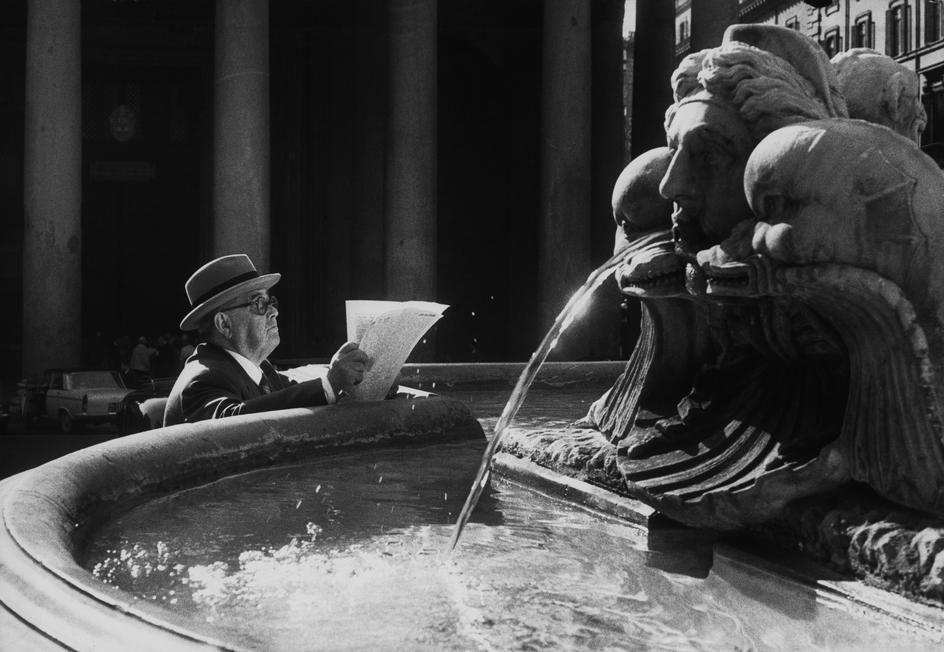 Henri Cartier-Bresson 1959 ITALY. Rome.
