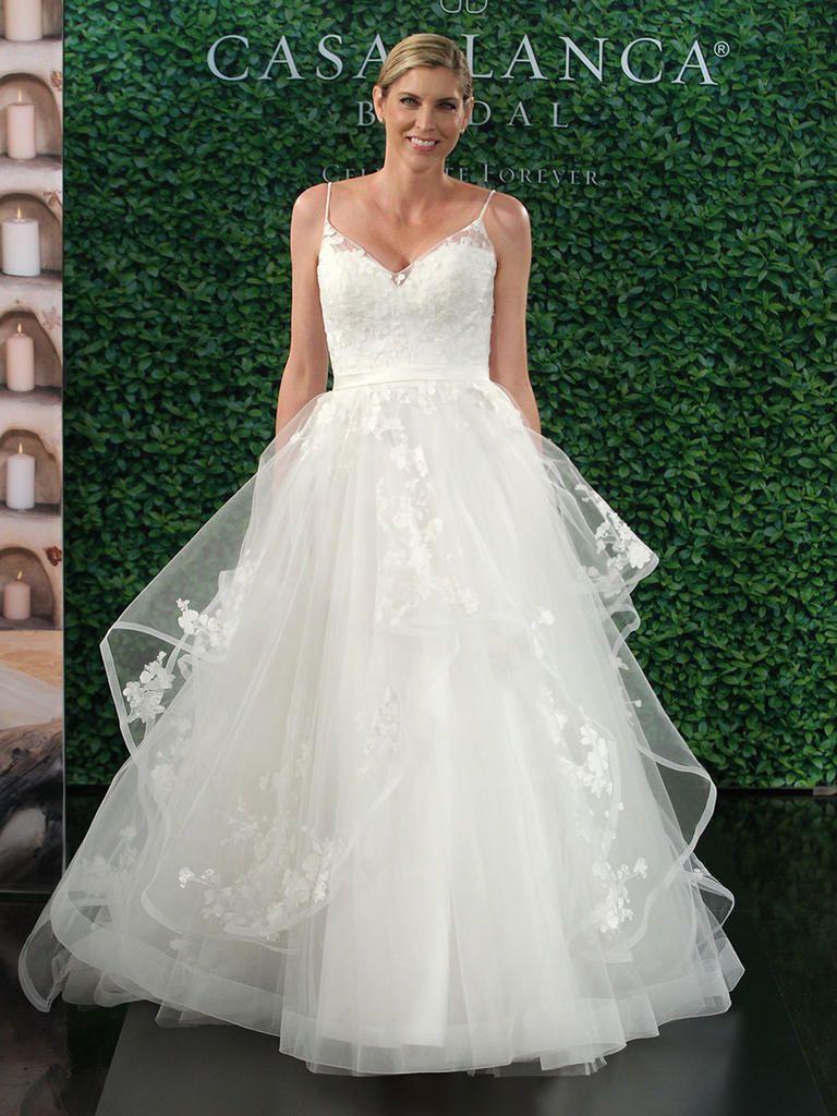 Casablanca Fall 2017 Head Turning Romantic Wedding Dresses New