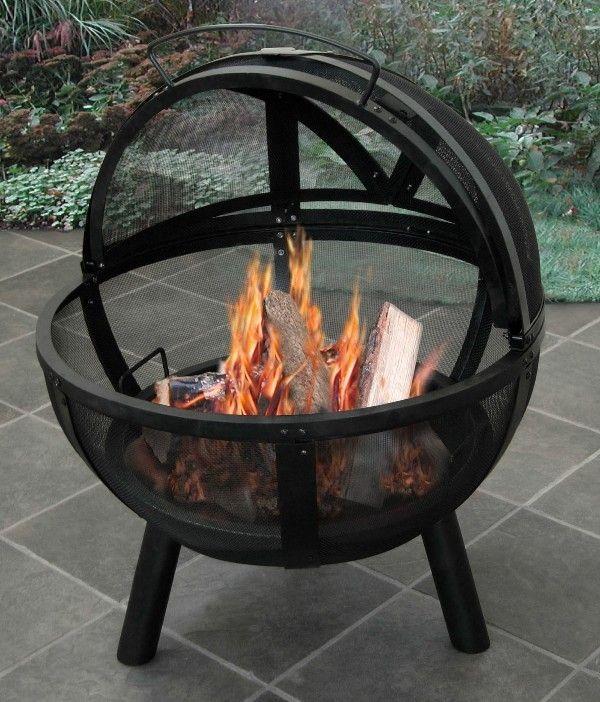 Landmann Ball Of Fire Firepit Fire Pit Backyard Wood Burning