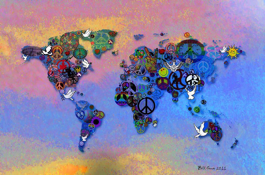 peace love world | world-peace-tye-dye-bill-cannon | My PEACE ...
