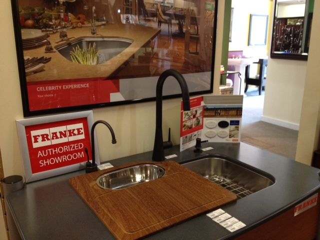 Ferguson Showrooms in Lutz, FL displaying Franke - looks great ...