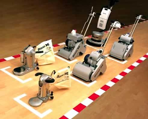 Hardwood Floor Sanders t he drum sander is a bit trickier if you cinch the sandpaper too tightly it will easily create a flat and chatter prone spot on the drum Wood Floor Sander Wb Designs
