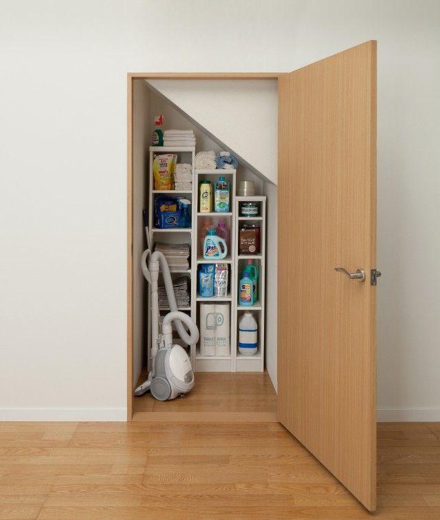 使用例:階段下収納・納戸