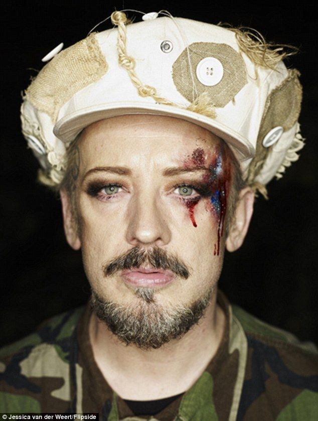 The photography exhibition - also featuring Boy George - aims to raise awareness for the B...