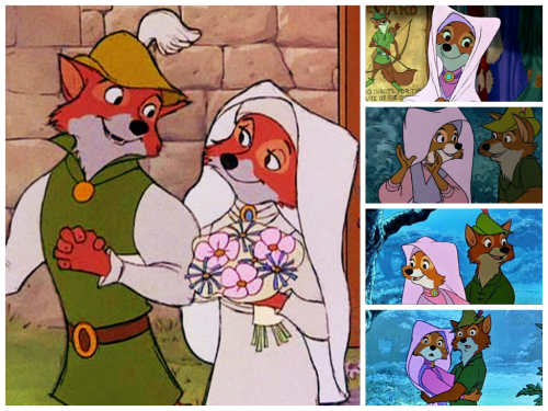 ROBIN HOOD Disney dieulois