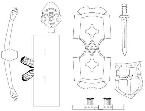 Armour Of God Craft Bible School Armor Of God Bible