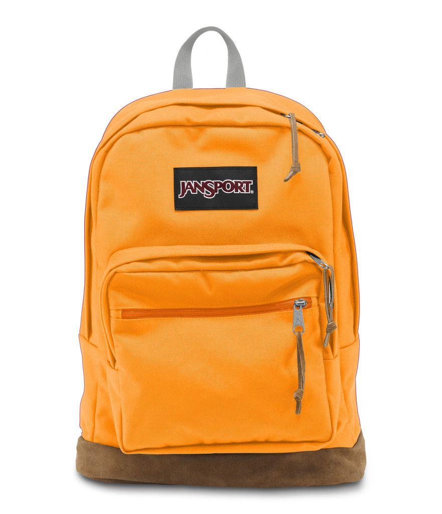 JanSport Right Pack Backpack - Orange Gold   JanSport Fall 2015 ...