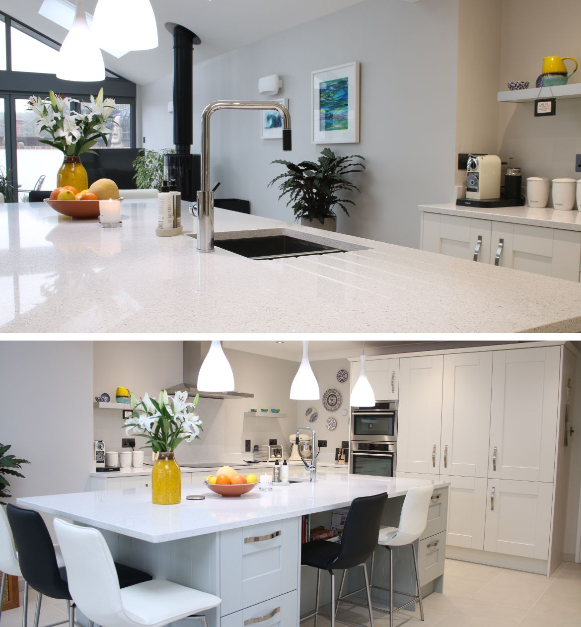 Bon St Dominic, Cornwall As Part Of A Large Modern Extension The Customer  Wanted A Modern Kitchen With A Classic And Timeless Feel. They Came To Simply  Kitchens ...