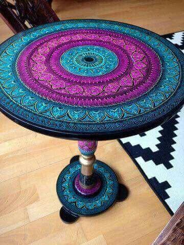 Mandala Table Boho Furniture Future Home In 2019