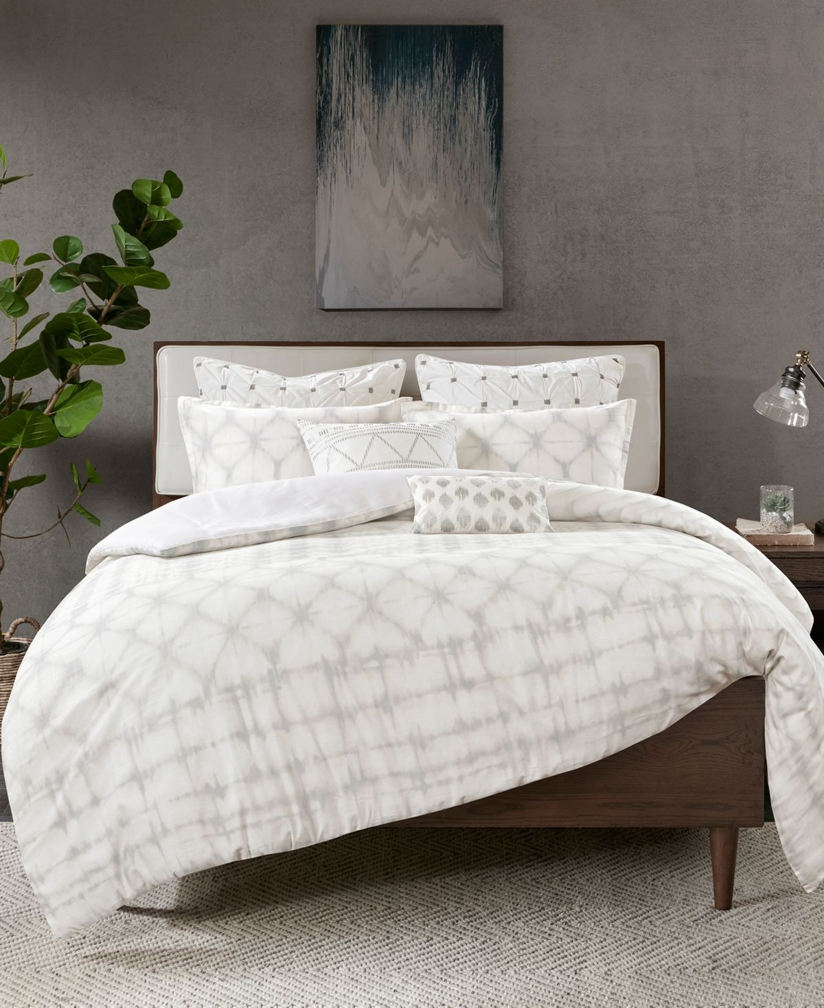Ink Ivy Fiji 3 Pc Full Queen Cotton Duvet Cover Mini Set Reviews Bed In A Bag Bed Bath Macy S Duvet Cover Sets Duvet Covers Bedding Sets