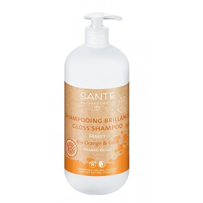 Appelsiini- kookos shampoo SANTE
